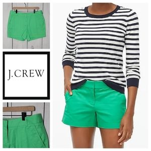 J Crew City Fit Chino Shorts NWT 10
